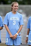 09 September 2011: North Carolina's Megan Brigman. The University of North Carolina Tar Heels defeated the University of North Carolina Greensboro Spartans 2-0 at Koskinen Stadium in Durham, North Carolina in an NCAA Division I Women's Soccer game.