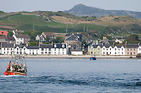 Port Ellen, Hebrides, Scotland, May 2010. The Village of Port Ellen is a small community on the Island of Islay. Dutch Tallship Thalassa sails between the islands along the Scotish west coast in search of the quality single malt whisky that is produced by the many distilleries. Photo by Frits Meyst/Adventure4ever.com