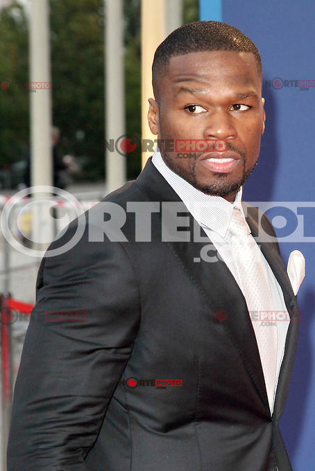 "August 30, 2012: 50 Cent aka Curtis James Jackson attends the ""IFA Opening Gala"" at the Palais am Funkturm. in Berlin, Germany. ..Credit: © AFG / MediaPunch Inc."