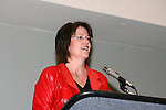 19 January 2008: Sports writer and commentator Christine Brennan moderated the meeting. Women's Professional Soccer held a Town Hall Meeting at the 2008 National Soccer Coaches Association of America's annual convention being held at the Convention Center in Baltimore, Maryland.