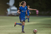 Seattle, WA - Sunday, May 21, 2017: Rebekah Stott during a regular season National Women's Soccer League (NWSL) match between the Seattle Reign FC and the Orlando Pride at Memorial Stadium.