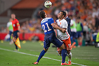 Amsterdam, Netherlands - Friday, June 5, 2015: The US Men's National team defeat the Netherlands 4-3 in an international friendly at Amsterdam Arena.