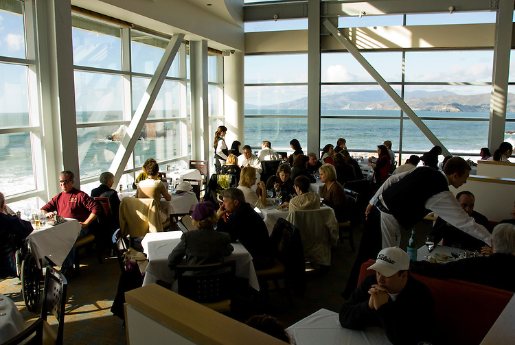 California: San Francisco. Cliff House Restaurant at Ocean Beach. Photo copyright Lee Foster. Photo #: 25-casanf75757
