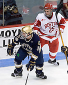 Kyle Palmieri (Notre Dame - 10), Colby Cohen (BU - 25) - The University of Notre Dame Fighting Irish defeated the Boston University Terriers 3-0 on Tuesday, October 20, 2009, at Agganis Arena in Boston, Massachusetts.
