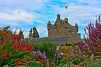 Cawdor Castle from the beautiful gardens