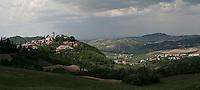 Landscape of Oltrepo pavese