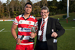 Counties Manukau Under 19 Club Rugby Final between Pukekohe and Karaka played at Bayer Growers Stadium Pukekohe on Saturday July 31st 2010. Karaka won 24 - 20 to claim the Bright Cup for 2010.