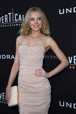 HOLLYWOOD, CA - JULY 11: Bar Paly at the premiere of Undrafted at the Arclight in Hollywood, California on July 11, 2016. Credit: David Edwards/MediaPunch