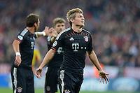 FUSSBALL   CHAMPIONS LEAGUE   SAISON 2012/2013   GRUPPENPHASE   FC Bayern Muenchen - FC Valencia                            19.09.2012 JUBEL Toni Kroos (FC Bayern Muenchen)  Torschuetze zum 2-0