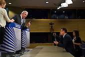 A press conference by Greek EU Commissioner for Migration, Home Affairs and Citizenship Dimitris Avramopoulos.