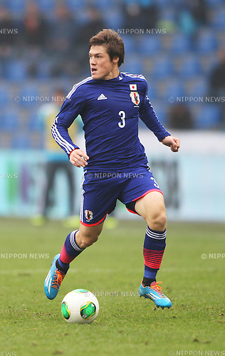 Gotoku Sakai (JPN),<br /> NOVEMBER 16, 2013 - Football / Soccer :<br /> International friendly match between Japan 2-2 Netherlands at Cristal Arena in Genk, Belgium. (Photo by Shin-ichiro Kaneko/AFLO)