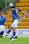 St Johnstone v Dunfermline... 13.08.11   SPL Week 4.Cillian Sheridand and Andy Dowie.Picture by Graeme Hart..Copyright Perthshire Picture Agency.Tel: 01738 623350  Mobile: 07990 594431