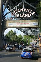 Entrance to Granville Island, Vancouver, Britis Columbia, Canada
