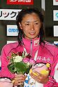 Hanae Ito, .FEBRUARY 11, 2012 - Swimming : .The 53rd Japan Swimming Championships (25m) .Women's 200m Freestyle Victory Ceremony .at Tatsumi International Swimming Pool, Tokyo, Japan. .(Photo by YUTAKA/AFLO SPORT) [1040]