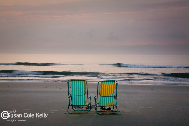 Carolina Coast sunrise, Huntington Beach State Park, SC, USA