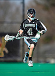 3 April 2010: Binghamton University Bearcats' Midfielder Andy Cook, a Senior from Vestal, NY, in action against the University of Vermont Catamounts at Moulton Winder Field in Burlington, Vermont. The Catamounts defeated the visiting Bearcats 11-8 in Vermont's opening home game of the 2010 season. Mandatory Credit: Ed Wolfstein Photo