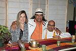 Sandra Gilbert, Bikram Choudhoury and Rakesh Samani Bikram attend Bikram Choudhury Visits East West, New York, 5/23/10