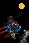 Art of Darkness Halloween Theme Werewolf Portraits