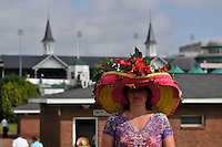 Scenes from Churchill Downs on Kentucky Derby Day in Louisville, Kentucky May 5, 2012.