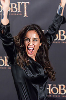 """Blanca Marsillach attends """"The Hobbit: An Unexpected Journey"""" premiere at the Callao cinema- Madrid."""