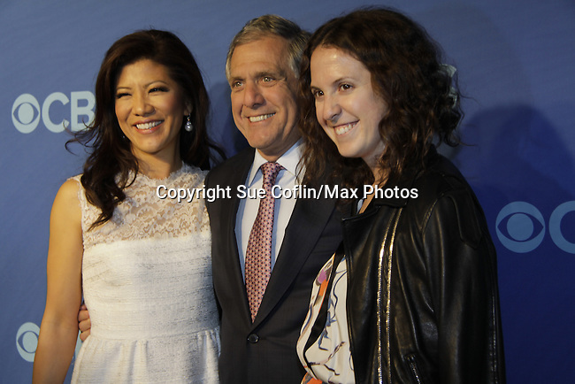 Julie Chen - The Talk - Big Brother with husband Les Moonves and daughter at CBS Prime Time Upfronts 2014-2015 on May 14, 2014 at Lincoln Center, New York City, New York (Photo by Sue Coflin/Max Photos)