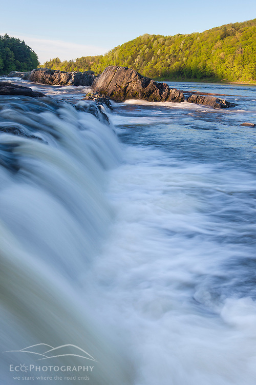Hartland Rapids (a.k.a. Sumner Falls) on the Connecticut River in Hartland, Vermont.