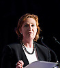 Cllr Suzanne Evans is UKIP's Communities Spokesman and a Councillor for Hillside ward in the London Borough of Merton. Pictured during a UKIP rally in Westminster where party leader Nigel Farage addressed party members on race issues. on 7th May 2014