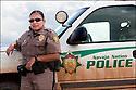 Arizona-Route 66<br /> Portrait<br /> Sur la route de Chimie