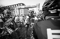 Paris-Roubaix 2012 ..Marcel Sieberg at the start