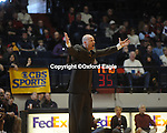 Mississippi head coach Andy Kennedy vs. Florida at the Tad Smith Coliseum in Oxford, Miss. on Saturday, February 20, 2010 in Oxford, Miss. Florida won 64-61.
