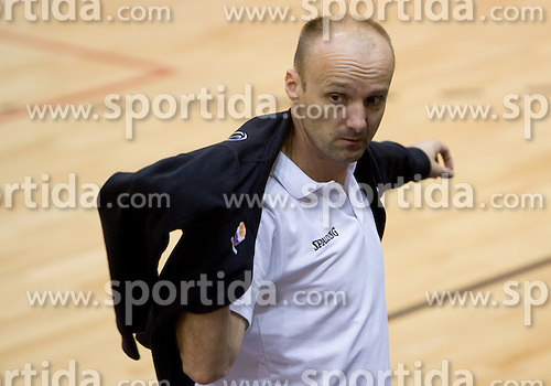 Head coach of Slovenia Jure Zdovc after the practice at the EuroBasket 2009, on September 17, 2009 in Szopienice Arena, Katowice, Poland.  (Photo by Vid Ponikvar / Sportida)