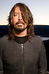 Dave Grohl of the Foo Fighters poses for a portrait backstage at the Sasquatch Music Festival