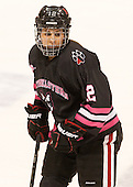 Sonia St. Martin (NU - 12) - The Northeastern University Huskies defeated the visiting Providence College Friars 8-7 on Sunday, January 20, 2013, at Matthews Arena in Boston, Massachusetts.