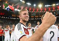 FUSSBALL WM 2014                       FINALE   Deutschland - Argentinien     13.07.2014 DEUTSCHLAND FEIERT DEN WM TITEL: Christoph Kramer jubelt