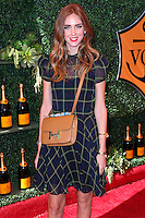 PACIFIC PALISADES, CA, USA - OCTOBER 11: Chiara Ferragni arrives at the 5th Annual Veuve Clicquot Polo Classic held at Will Rogers State Historic Park on October 11, 2014 in Pacific Palisades, California, United States. (Photo by Xavier Collin/Celebrity Monitor)
