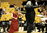 Midori performs with Carl St. Clair and The Pacific Symphony.