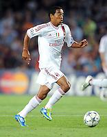 FUSSBALL   CHAMPIONS LEAGUE   SAISON 2011/2012   GRUPPE  H 13.09.2011 FC Barcelona - AC Mailand  Robinho (AC Mailand)