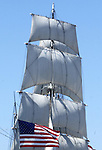 "Tall ship Star of India 1863 iron hulled beauty oldest active ship in world San Diego Bay California, tall ship full rigged ship named after the Greek goddess of music tall ship is large traditionally rigged sailing vessel,  California Fine Art Photography by Ron Bennett, Fine art Photography and Stock Photography by Ronald T. Bennett Photography ©, FINE ART and STOCK PHOTOGRAPHY FOR SALE, CLICK ON  ""ADD TO CART"" FOR PRICING,"