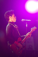 Singer Prince performsa on the main stage during Sziget festival held in Budapest, Hungary on August 09, 2011. ATTILA VOLGYI