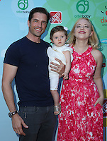 CULVER CITY, CA - SEPTEMBER 24: Kaitlin Riley, Jordi Vilasuso, Riley Grace Vilasuso attends the Step2 & Favored.by Present The 5th Annual Red Carpet Safety Awareness Event at Sony Pictures Studios on September 24, 2016 in Culver City, California. (Credit: Parisa Afsahi/MediaPunch).