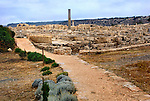 Travel stock photo of Roman Agora ancient remains of Roman period The Archaeological Site of Kourion in Cyprus Spring 2007 Horizontal