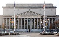 Archives of the United States Building Washington DC