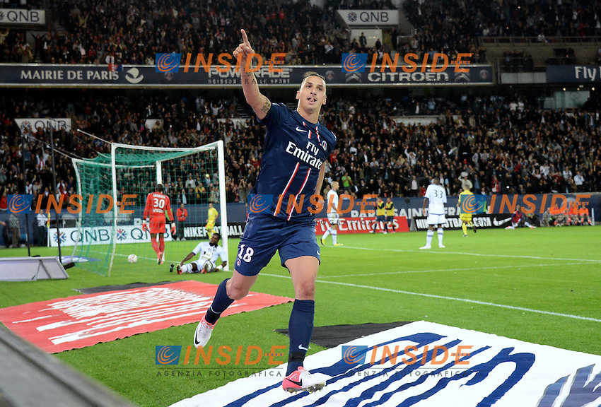 Zlatan IBRAHIMOVIC (psg) .Parigi 17/9/2012.Football Calcio 2012/2013 Ligue 1.Psg Vs Tolosa.Foto Anthony Bibard / Panoramic / Insidefoto.ITALY ONLY