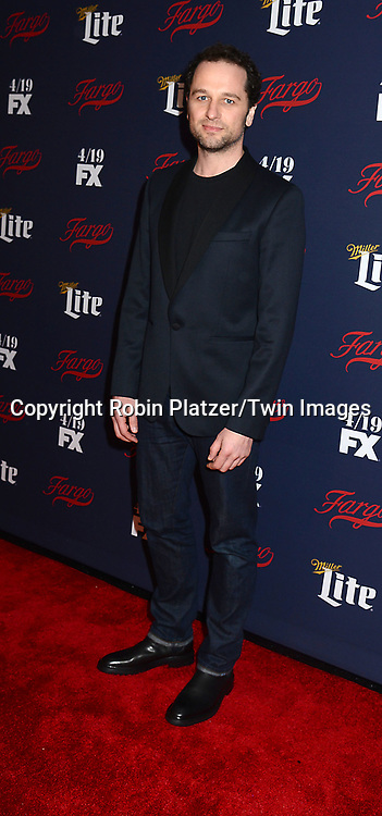 Matthew Rhys attends FX's 2017 All-Star Upfront on  April 6, 2017 at SVA Theater in New York, New York, USA. <br /> <br /> photo by Robin Platzer/Twin Images<br />  <br /> phone number 212-935-0770