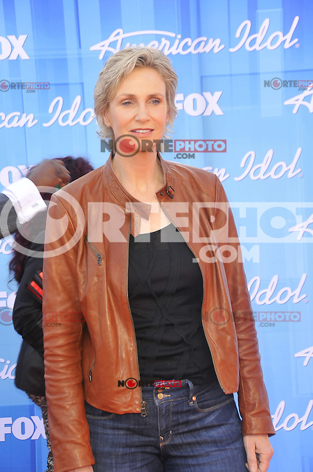 American Idol 2012 Finale Results Show at Nokia Theatre L.A. Live on May 23, 2012 in Los Angeles, California. ©mpi35/MediaPunch Inc. Pictured- Jane Lynch