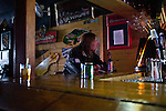 Al has a drink at the bar on Wednesday, November 30, 2011 in Webster City, IA.