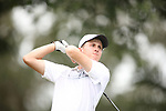 HOWEY IN THE HILLS, FL - MAY 19: Mark David Wright of Wittenberg University tees off during the Division III Men's Golf Championship held at the Mission Inn Resort and Club on May 19, 2017 in Howey In The Hills, Florida. (Photo by Cy Cyr/NCAA Photos via Getty Images)