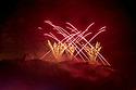 Edinburgh, UK. 31.08.2015. The Virgin Money Fireworks concert concludes the Edinburgh International Festival. Photograph © Jane Hobson.