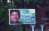 Pierre Paquette for the Bloc Quebecois  election poster 2008