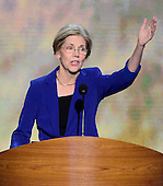 Elizabeth Warren, Candidate for the United States Senate from Massachusetts, makes remarks at the 2012 Democratic National Convention in Charlotte, North Carolina on Wednesday, September 5, 2012.  .Credit: Ron Sachs / CNP.(RESTRICTION: NO New York or New Jersey Newspapers or newspapers within a 75 mile radius of New York City)